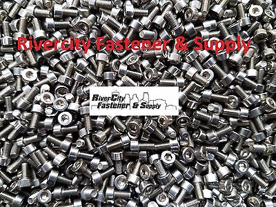 (10) M3-0.5x6mm OR M3X6 mm Socket / Allen Head Cap Screws Stainless Steel