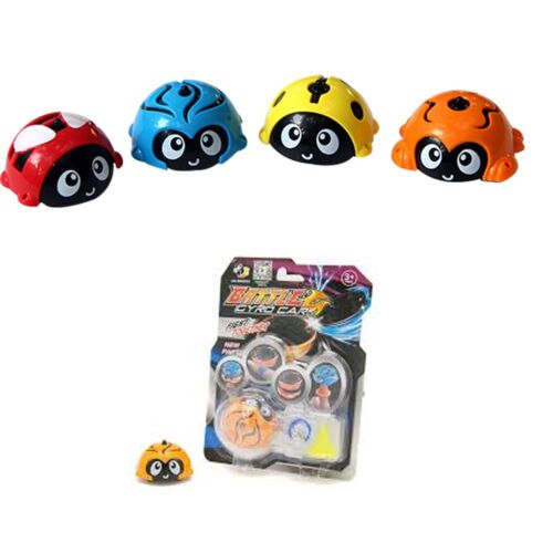 4pcs Battle Gyro Cars Assorted Spinning Top Birthday Party Bag Filler Toys