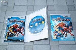 Jeu-Comme-NEUF-Wii-Wii-U-PAL-Marvel-Super-Heroes-3D-Grandmaster-039-s-Challenge