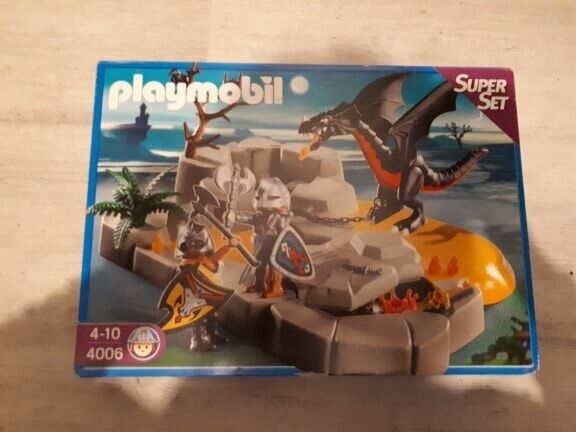 Playmobil 4006 Superset Chevaliers Dragons NEUF et SCELLE