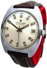 Junghans Germany Herrenuhr mechanical men´s watch vintage 17Jewels hand winding