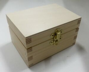 Small Pine Wooden Gift Box 12x8 5x7cm Rn125 Present Occasion Idea