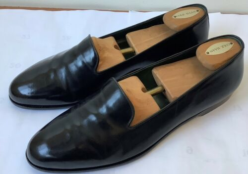 Bragano By Cole Haan Men's Black Leather Loafers O