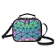 Luminous-Women-Geometric-Laser-Tote-Shoulder-Bags-Laser-Plain-Folding-Handbags thumbnail 56