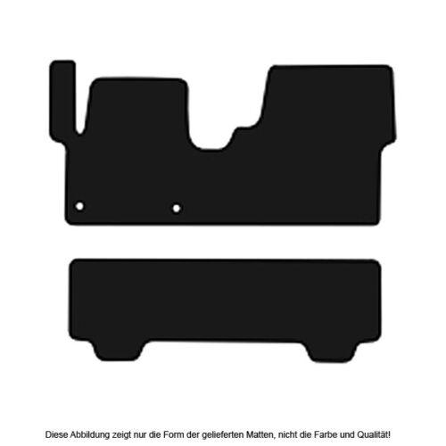 AUTO-TAPPETINI Exclusiv BLACK PER TOYOTA PROACE verso a partire dal 2016 TAPPETI AUTO
