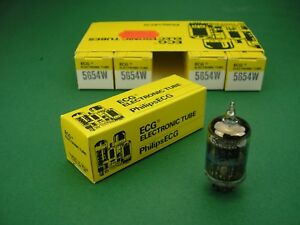 5-x-5654W-Philips-NOS-premium-replacement-for-6J1-6J1P-6AK5-EF95-tubes