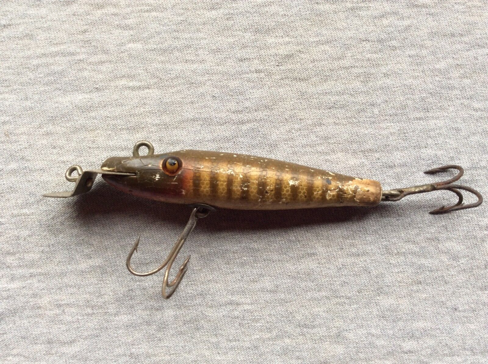 Vintage wood creek  chub mini striper pike  limit buy
