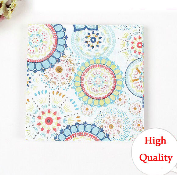 20 PCS/Pack Classic Series Colorful Party Paper Napkin 33X33CM 2 Ply Pattern 1