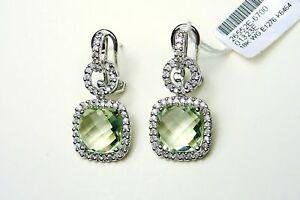 18K-WHITE-GOLD-DIAMOND-amp-GREEN-AMETHYST-EARRINGS