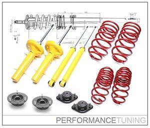 Kit-Suspension-Sport-Coupelles-40mm-BMW-Serie-3-E30-6cyl-51mm-TA-Technix