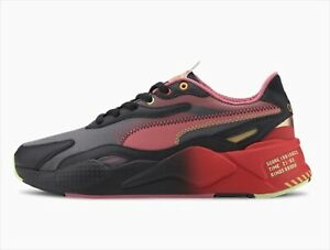 Details about SONIC THE HEDGEHOG × PUMA RS-X3 Black / High Risk Red  (374313-01) NEW US 6