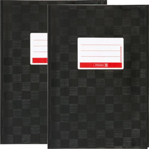 2 x Hefthülle gedeckt A5 Brunnen Heftumschlag farbig 13 Farben Heftschöner