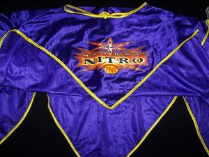 4cab6317a4 WCW Monday Nitro TNT Cape Wrestling Kids Dress Up Poncho Purple ...