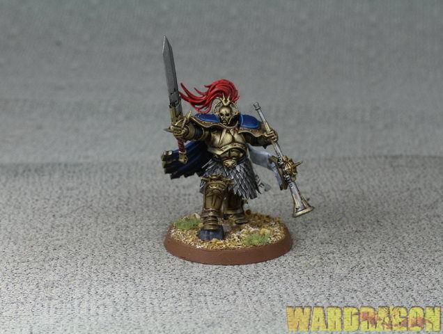 25 mm Warhammer Wds Pintado stormcast los eternos Knight-heraldor d50