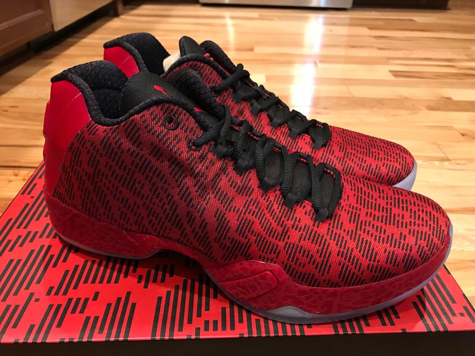 Nike Nike Nike air jordan 29 xx9 niedrigen jimmy butler pe fitnessstudio rot / schwarz 855514-605 größe 10,5 23c308