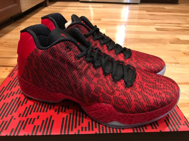 huge selection of c03d0 084ba Nike Air Jordan 29 XX9 Low Jimmy Butler PE Gym Red/Black 855514-605 Size  10.5