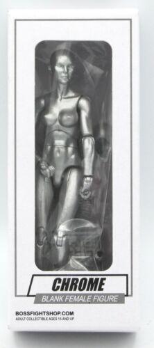 100556 Blank Female Figure Vitruvian H.A.C.K.S Chrome Boss Fight Studio NIB