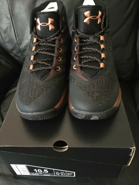 06bc22bf476 Men s Under Armour Curry 3-ASW Brass Band Copper Basketball Shoes 10.5  (1299665-