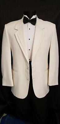 Mens Ivory Dinner Jacket Cruise Tuxedo Oscar De La Renta Classic Tuxedos TUXXMAN