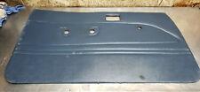 89 95 Toyota Pickup Truck Hilux Door Panel Trim Cover Card Blue Left Driver Oem