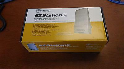 EZStation5 Teletronics All-In-One 5.8 GHZ 400MW Radio with 13dBi Patch Antenna