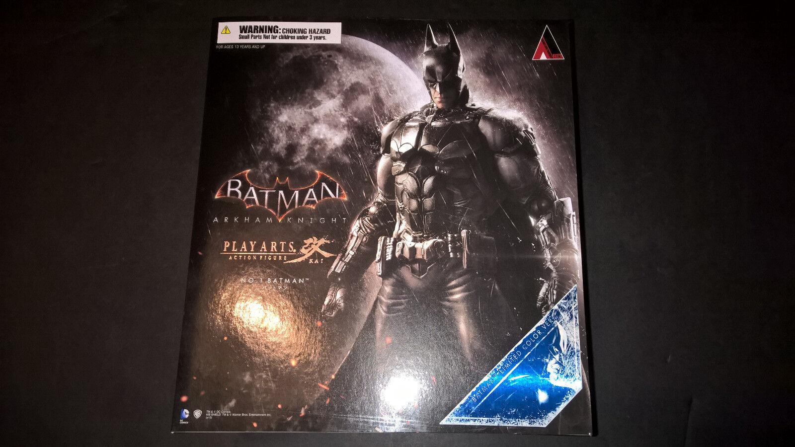 Play Arts Kai BATMAN Arkham Knight Limited Farbe Version SDCC 2015 DC Comics