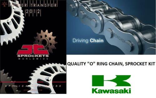 "KAWASAKI KLR650 KLRV 650 95-03 HEAVY DUTY  "" O "" RING CHAIN , SPROCKET  KIT"