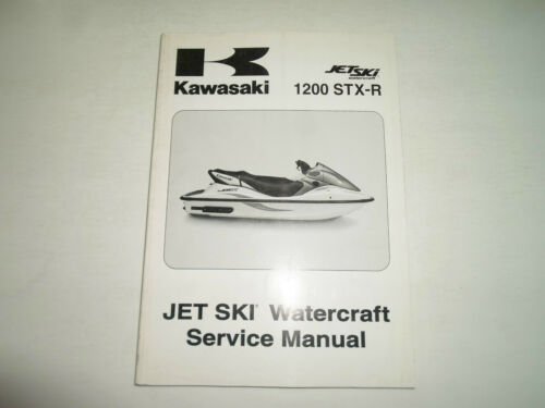 2004 Kawasaki 1200 STX-R Jet Ski Watercraft Service Repair Shop Manual FACTORY