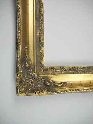 Picture Frame- Antique Ornate Bright & Dark Gold Classic Old Style- 16 x 20