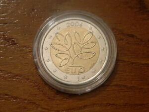 Finnland-2004-2-Euro-BU-Gedenkmuenze-CC-coin-GOOD-QUALITY-from-Finland-CAPSULE