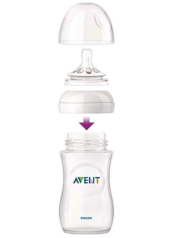 Sutteflaske, Philips Avent Natural Bottle 3x260ml