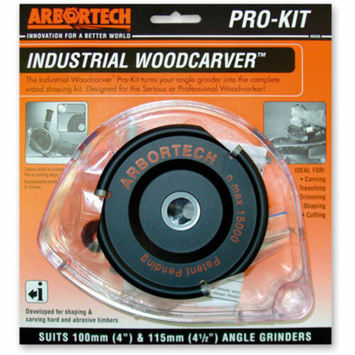 Ref: 510223 Arbortech Industrial Carver Industrial Pro Kit