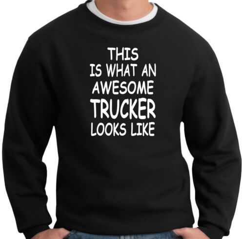 Awesome Trucker Sweatshirt Gift Ideas For A Truck Driver Cab Accessories Haulage