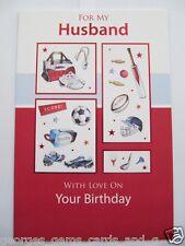 Fantastico COLORATO SPORT correlati per mio marito compleanno auguri carta