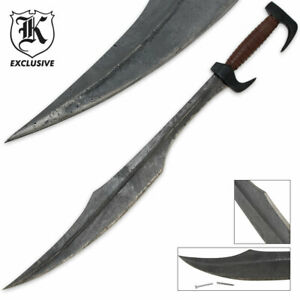 300 Spartan Warrior Greek Historical High Carbon Steel Movie Medieval Sword