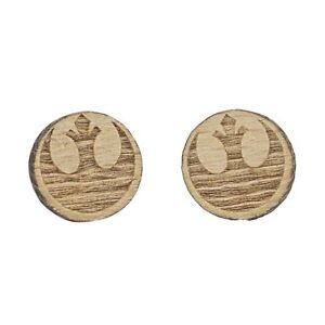Star-Wars-Rebel-Alliance-Mini-Wood-Earrings-Cute-Vintage-Geek-Jewelry
