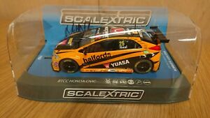 à Condition De Scalextric C3861ae Signature Series Honda Civic Type R Btcc 2016 Matt Neal No.25-afficher Le Titre D'origine