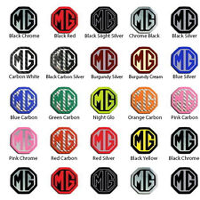 Custom Order 45mm MG Steering Wheel Badge Choice of Colour 1 Badge Insert Only