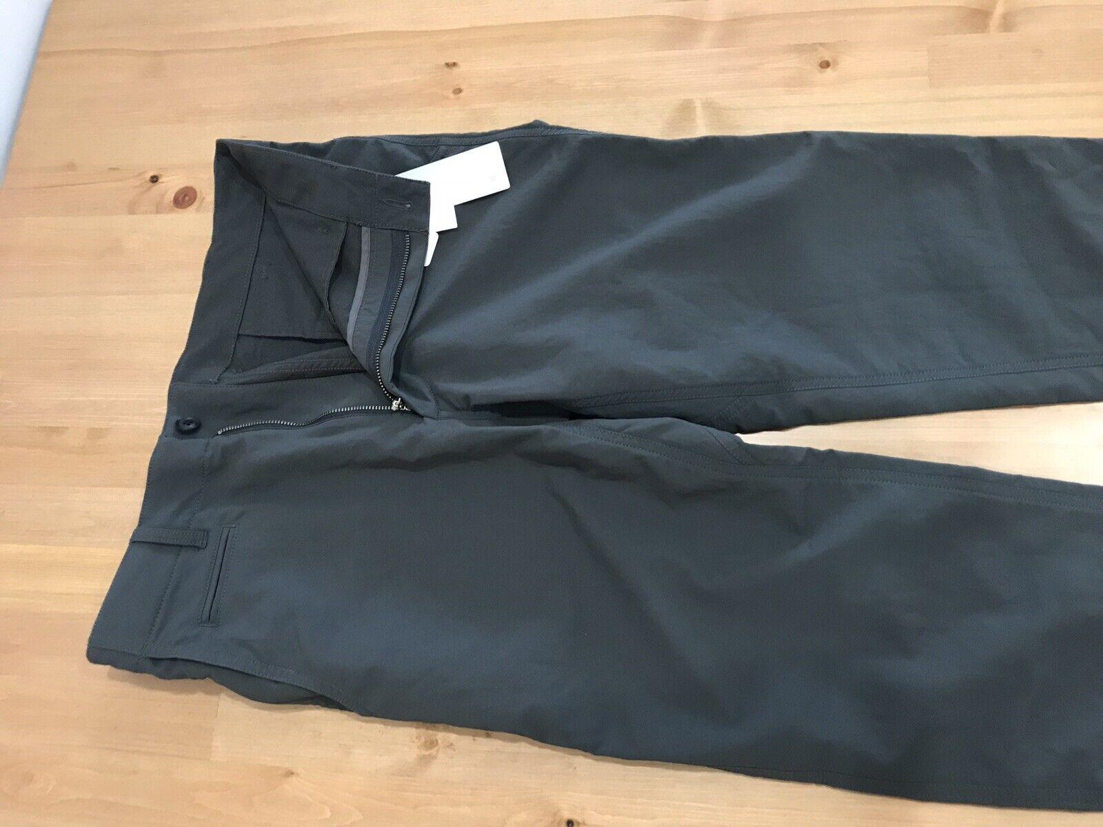 Nanamica Grey Alpha Dry Club Pants Size 30 NWT