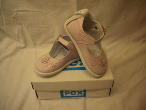 BABY SHOES STYLE OLGA  PINK SIZE 2-5 INFANT LEATHER UPPER SYNTHETIC SOLE