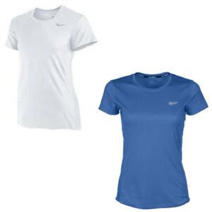 bde75ce417d Nike Women's Dri-Fit Miler Running T-Shirt With UPF 40+ Sun ...