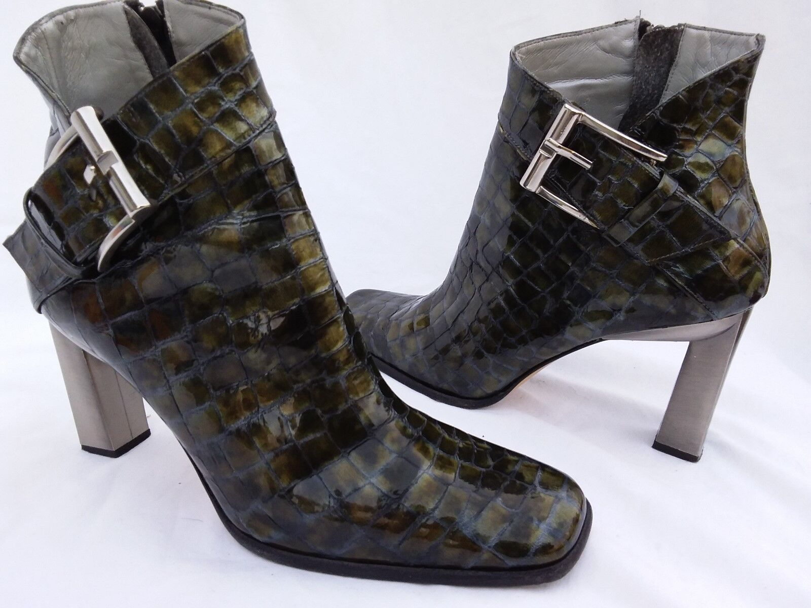 FANTASY COLLECTION - SUSAN - Women's Designer Ankle Boot Size 10B