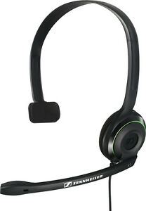 Sennheiser X 2 Gaming Headsets XBOX 360 Noice Cancel Voice Chat Voice Control