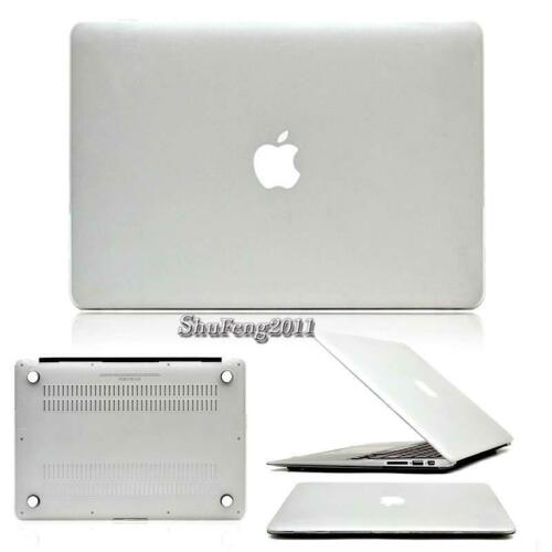 13-inch Matte Hard Rubberized Case Cover For Apple Macbook White A1342