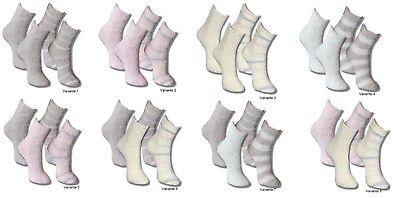 4 Paar Kuschelsocken SUPER-SOFT Flauschsocken Bettsocken Damen Mädchen Socken