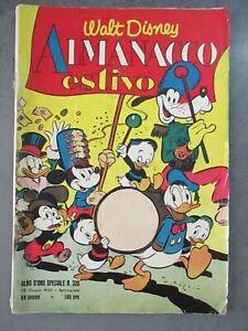 ALMANACCO ESTIVO 1952 - ALBO D'ORO SPECIALE 320 - WALT DISNEY MONDADORI