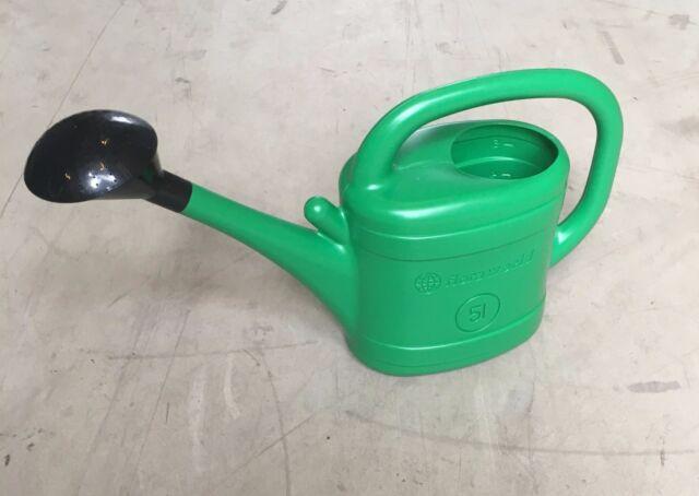 5et SET Gießkanne Gartengießkanne mit Brause Henkel 5L Neuheit
