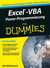Excel-VBA Alles in Einem Band Fur Dummies by John Walkenbach (Paperback, 2016)
