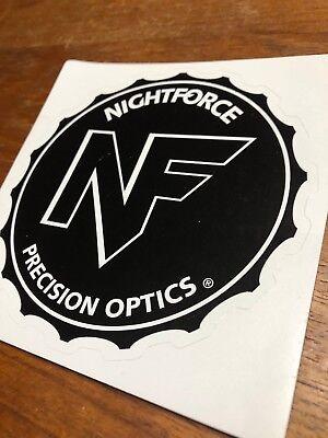 NIGHTFORCE OPTICS Authentic Sticker Decal  Firearms Tactical Gear Hunting Gun