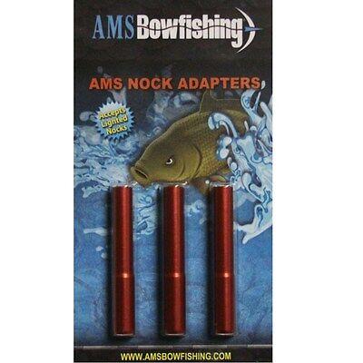 3 Pack AMSBowfishing Nock Adapter